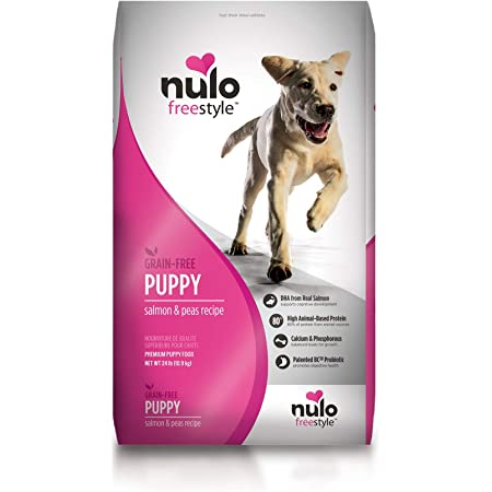 Nulo Freestyle Dry Puppy Food - Grain Free Kibble Recipe with DHA for Brain Development, Available for Large Breed Puppies