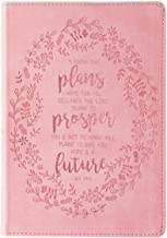 Christian Art Gifts Pink Faux Leather Journal | I Know The Plans Jeremiah 29:11 Bible Verse | Slim Line Flexcover Inspirational Notebook w/Ribbon Marker, 240 Lined Pages, 6 x 8.5 x .8 Inches PDF