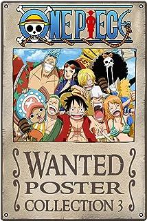Affiche en métal One Piece 2 Movie Japan Anime Idéal pour pub, hangar, bar, bureau, cave, maison, chambre, salle à manger,...