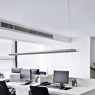 LED Lámpara colgante 'Vinca' (Moderno) en Gris hecho de Plástico (A+) de Arcchio | lámpara colgante para oficina, lámpara colgante, lámpara, lámpara de techo, lámpara de techo, lámpara colgante