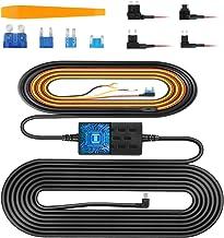VanTop V9H Dash Cam Hardwire Kit, 11.5ft Mini USB Hard Wire Kit for Dashcam Converts 12V-24V to 5V/2.5A w/Fuse Kit and Ins...