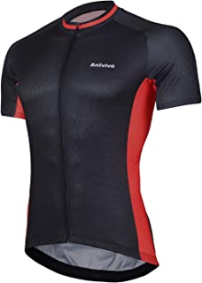 ANIVIVO Cycling Shorts Men Cool Max Padded,Mens Bike Shorts Comfort Road Bike Shorts with Anti-Slip Belt
