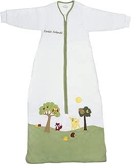 Slumbersafe Winter Toddler Sleeping Bag Long Sleeves 3.5 Tog - Forest Friends, 18-36 Months/Large