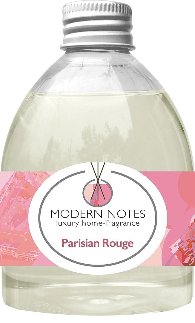 酒シェルター驚きMODERN NOTES リードディフューザー(大) PARISIAN ROUGE 240mL