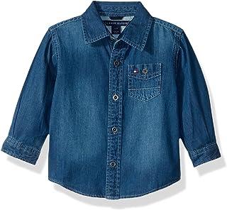 Tommy Hilfiger Boys' Long Sleeve Max Denim Shirt