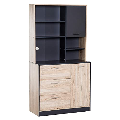 Freestanding Pantry Cabinets Amazon Com