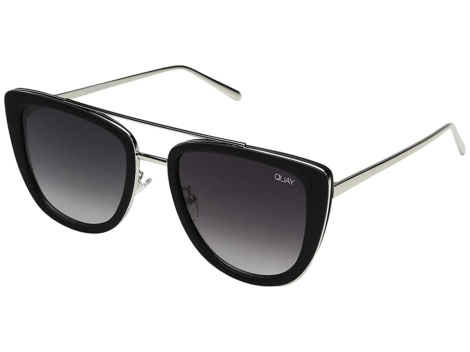 QUAY AUSTRALIA French Kiss (Black/Smoke) Fashion Sunglasses