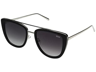 QUAY AUSTRALIA French Kiss (Black/Smoke) Fashion Sunglasses