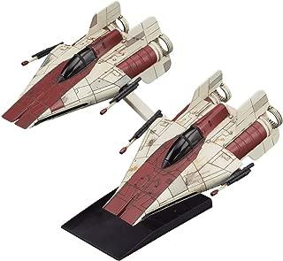 Bandai Star Wars Vehicle Model 010, A-Wing Star Fighter, 2 Model Kit Set(Japan Import)