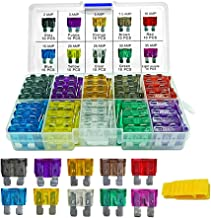 100 Pieces Blade Fuses - MuHize Car Truck Standard (2A/3A/5A/7.5A/10A/15A/20A/25A/30A/35A) Assorted Fuse, Replacement Car RV SUV Truck Camper Fuses