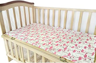 Baby Fitted Crib Sheet, 100% Cotton Muslin Extra Soft Sleeper Sheets 28
