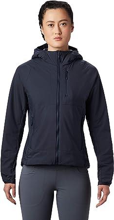 Mountain Hardwear KOR Cirrus - Sudadera híbrida con Capucha para Escalada en Varios Niveles o Uso Diario en Clima frío, versátil, Ligero, Aislado