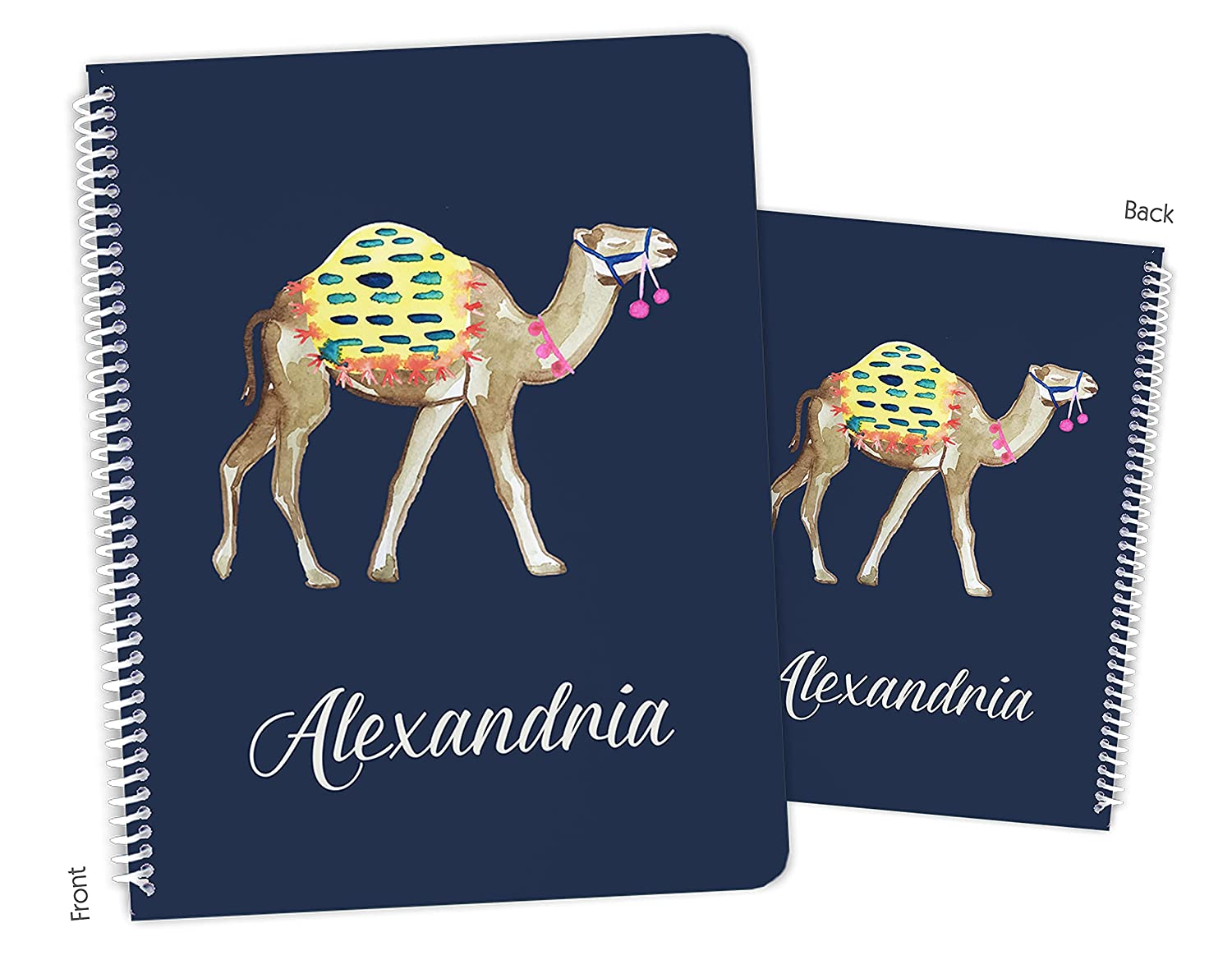 Personalized Camel Spiral Sketchbook Notebook Fashionable Ranking TOP6 Bound