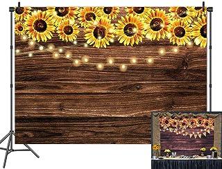 Holzboden Sonnenblume, 5x3 FT