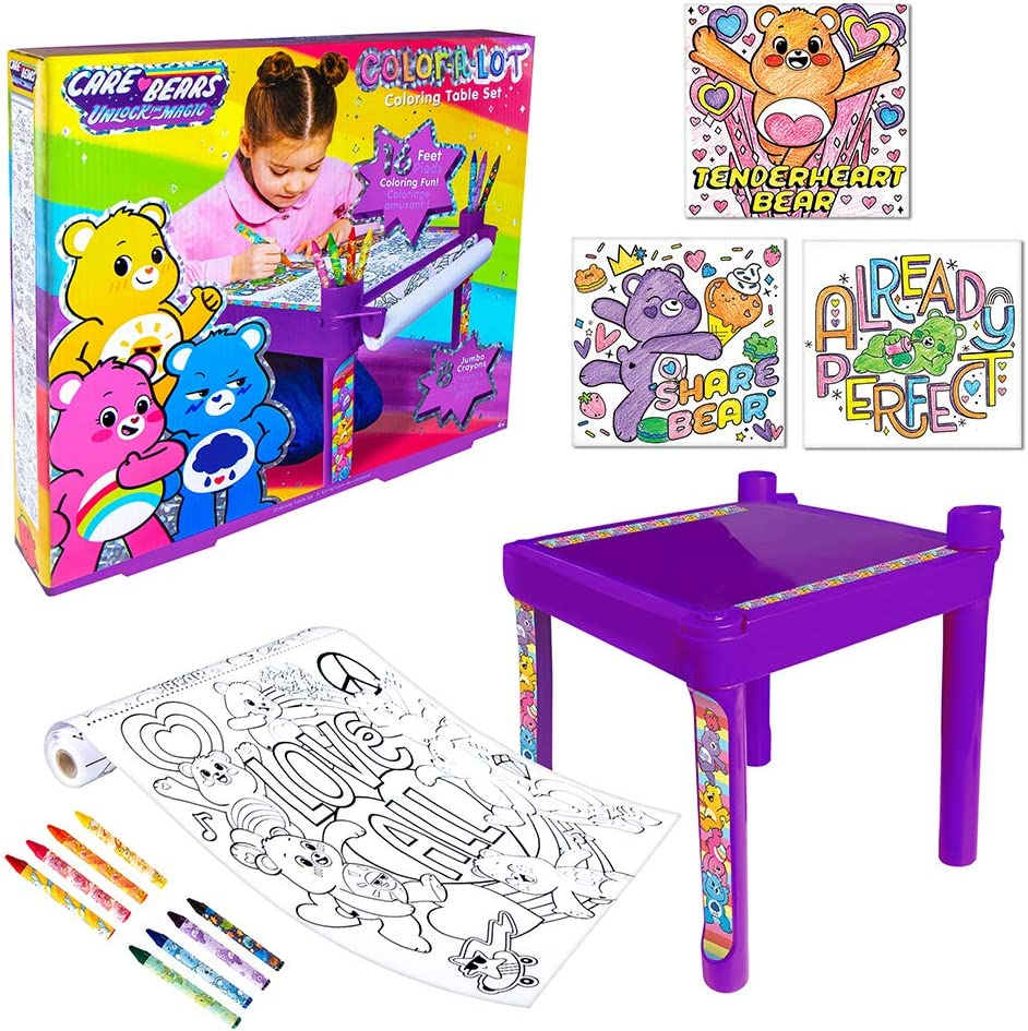 Fashion low-pricing Angels Care Bears Desk low-pricing Activity for Table Kids Coloring