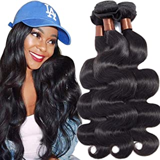 Angie Queen Hair Unprocessed Brazilian Body Wave Remy Hair Natual 24