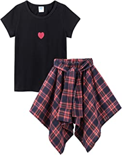 M RACLE Cute Little Girls' 2 Pieces Long Sleeve Top Pants Leggings Clothes Set Outfit