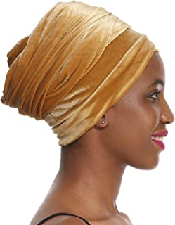 """Easy Wearing African Head Wrap - 78"""" Long, Amazing Soft, Extremely Stretchy, Good Price, 30-DAYS MONEY REFUND GUARANTEED"""