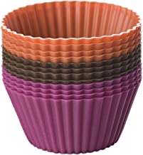 Chicago Metallic CMB011 Silicone Baking Cups, Multi Color