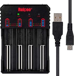 Universell batteriladdare smart 18650 laddare för AAA AA A 10440 14500 14650 17670 18350 18500 18700 22650 20700 21700 266...