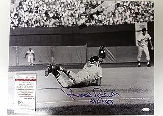 Brooks Robinson Signed Autographed 16x20 Photo JSA COA Baltimore Orioles