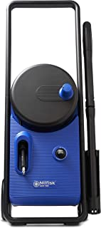 Nilfisk Hidrolimpiadora Core 140 Bar con regulador de Potencia, para hogar, Exteriores y Coches, Azul