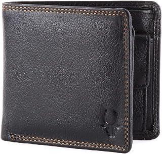 WildHorn Black Leather For Men - Bifold Wallets