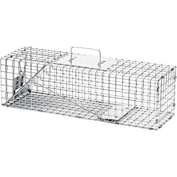 Havahart Medium Professional Style One-Door Animal Trap for Rabbit, Skunk, Mink, and Squirrel - 1078
