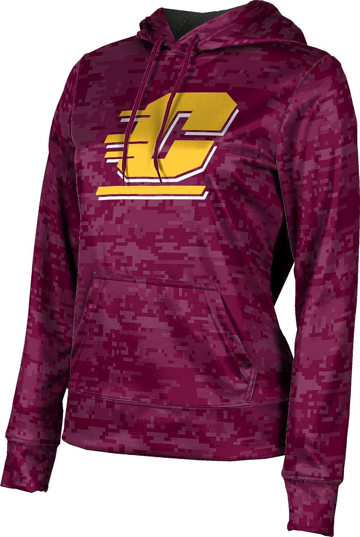 ProSphere Central Michigan University Girls' Pullover Hoodie, School Spirit Sweatshirt (Digital)
