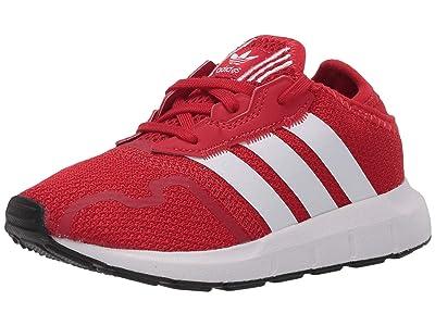 adidas Originals Kids Swift ESS I (Infant/Toddler) (Scarlet/Footwear White/Core Black) Boys Shoes