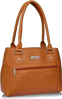 Aisna Women's Handbag (Tan, Asn-058)