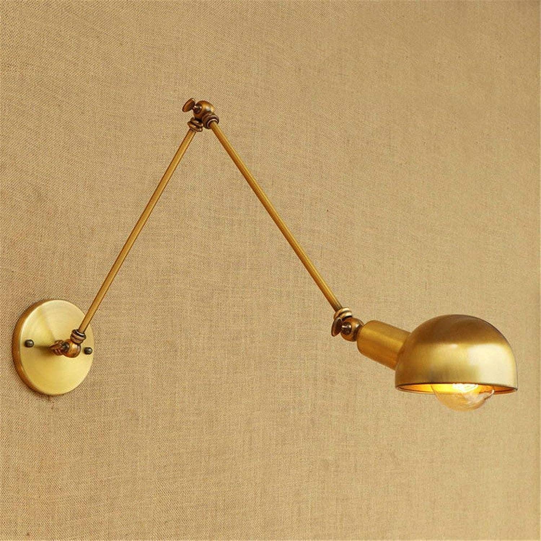 Wall Light Home Beleuchtung Wandleuchte Schmiedeeisen Langen Arm einstellbar Persnlichkeit Wohnzimmer (Farbe   20cm+20cm)