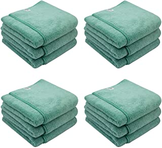 Chemical Guys MIC36412 Workhorse XL Green Professional Grade Microfiber Towel, Exterior (24 in. x 16 in.) (Pack of 12)