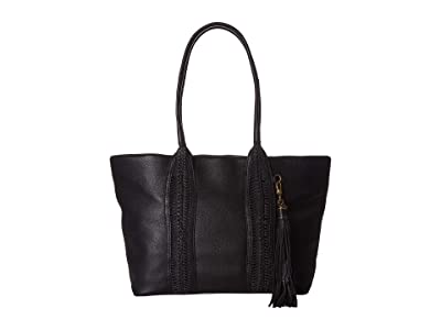 The Sak Sienna Satchel by The Sak Collective (Black) Handbags