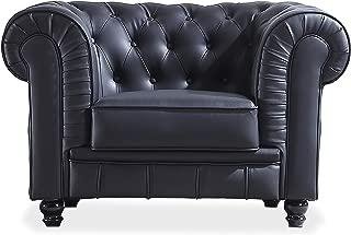 Adec - Chesterfield, Sofa Individual de una Plaza, Sillon
