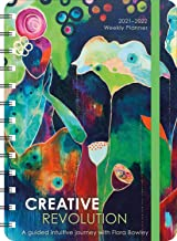 """Creative Revolution 2021 - 2022 On-the-Go Weekly Planner: 17-Month Calendar with Pocket (Aug 2021 - Dec 2022, 5"""" x 7"""" closed)"""