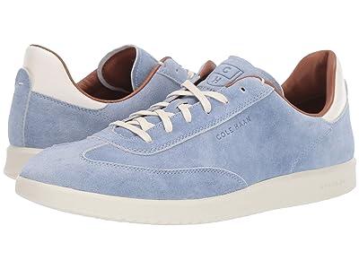 Cole Haan Grandpro Turf Sneaker (Dusty Zen Blue Suede) Men