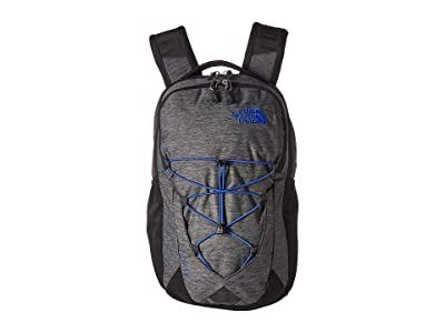 The North Face Jester Backpack (TNF Black Heather/TNF Blue) Backpack Bags