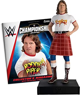 Hero Collector WWE Championship Collection | Rowdy Roddy Piper with Magazine Issue 30 by Eaglemoss