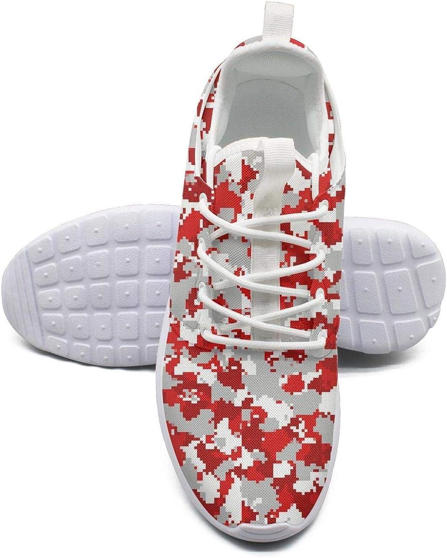 Gjsonmv Sexy Pink camo mesh Lightweight shoes Women Fashion Sports Trail Running Sneakers shoes