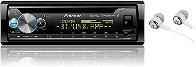 Pioneer in-Dash Built-in Bluetooth CD, Front USB Auxiliary, MP3, Pandora, AM/FM and SiriusXM Ready, Built in iPod, iPhone, and iPad Controls, ARC Phone app Car Stereo Receiver