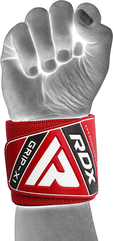 MEHRWEG RDX Zughilfen Bodybuilding Handgelenkst/ütze Handgelenkbandage Krafttraining Gym Fitness Gewichtheben Zughilfe Klimmz/üge Latzughilfe Lifting Straps Griffhilfe