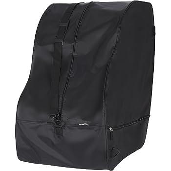Car Seat Travel Bag & Storage Bag, Universal Fits All Evenflo Car Seats, Black