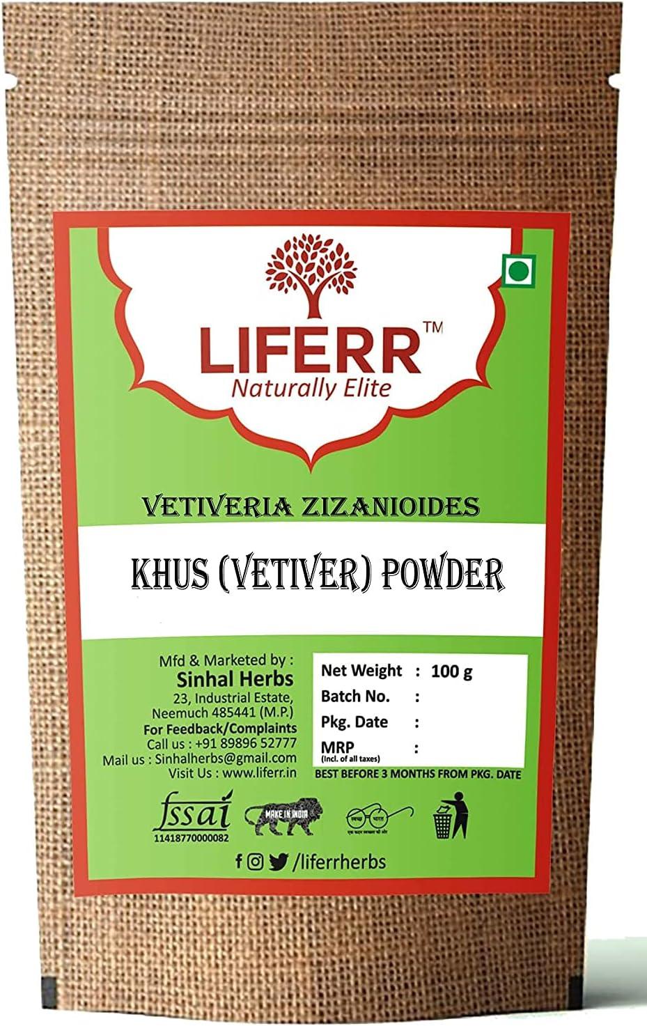 Panihari LIFERR Vetiver Powder High order Vetiveria Zi Chicago Mall Khus Root