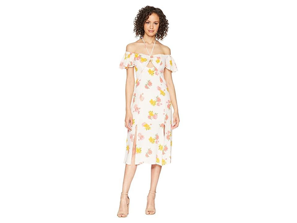 ASTR the Label Kayli Dress (Blush Multi Floral) Women