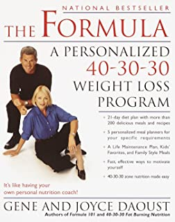 Best 40 30 30 diet for weight loss Reviews