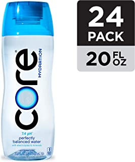 Core Organic Hydration Perfect 7.4 pH Nutrient Enhanced Water, 20 Ounce (Pack of 24)
