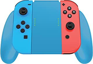 Joycon Comfort Grip for Nintendo Switch by TalkWorks | Controller Game Accessories Handheld Joystick Remote Control Holder...
