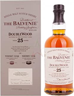 Balvenie The 25 Years Old Double Wood Whisky 1 x 0.7 l