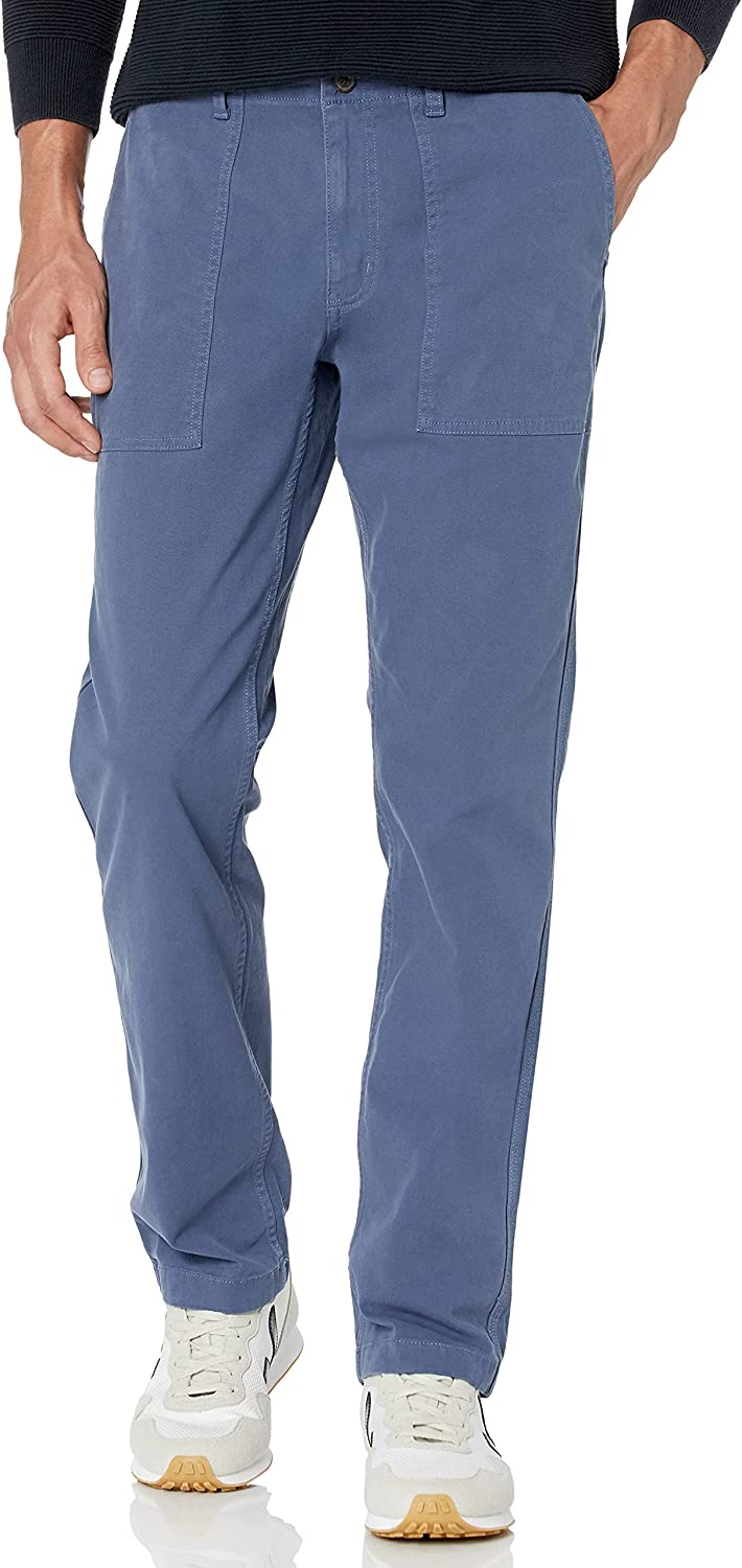 Goodthreads Men's shop Straight-fit Stretch Max 89% OFF Canvas Utility Pant
